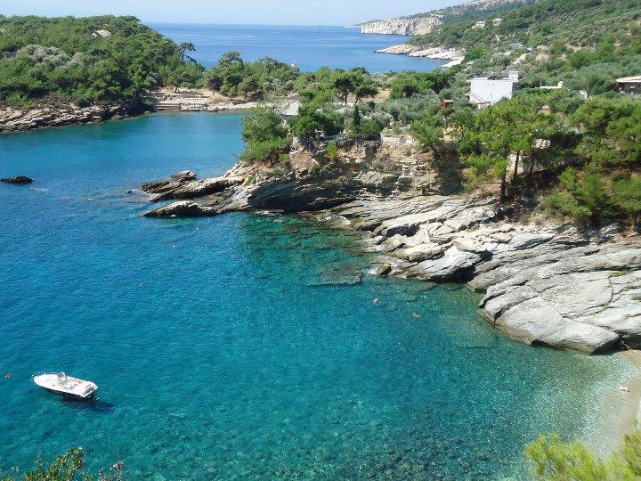 Zümrüt adası Thassos, Yunanistan